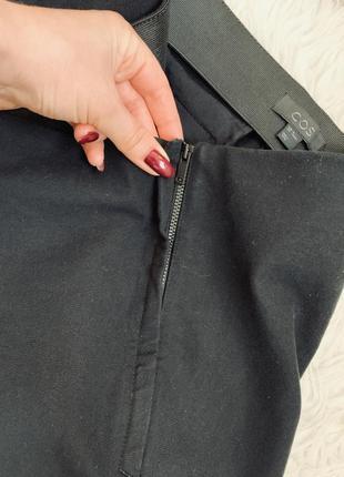 Брендовые стрейчевые зауженные брюки от cos7 фото
