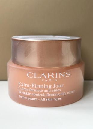Clarins extra-firming регенерирующий дневной крем от морщин