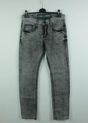 Оригинальные стильные джинсы armani collezioni j40 gray wash jeans
