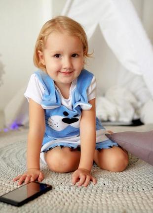 Платье велюровое на девочку, дитяча сукня демі, детское платье осень сарафан5 фото