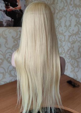 Парик из 100% натуральных волос 90 см