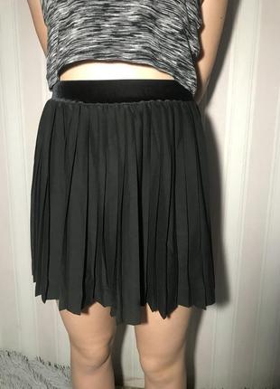 Плиссе плиссированная юбка