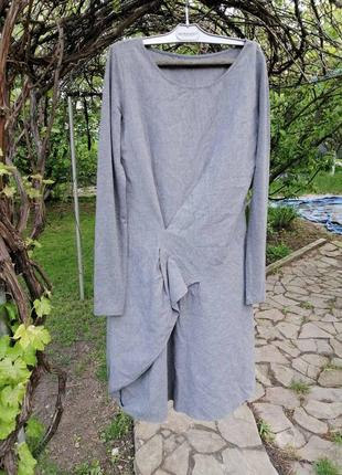 Платье  crea франция тонкая шерсть