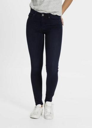 Крутые зауженные джинсы super skinny c высокой талией esmara