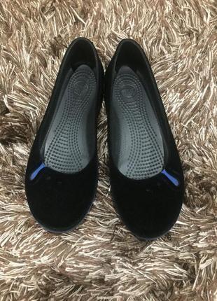 Фирменные балетки crocs