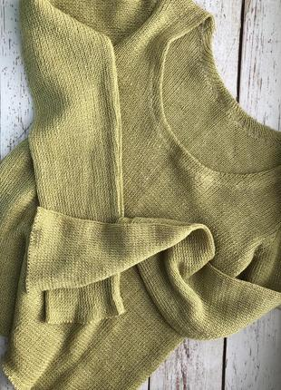 Уникальный новый свитерок из 100% льна, куплен в вильнюсе
