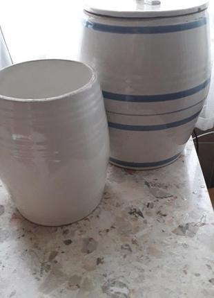 Бочонки керамические для солений