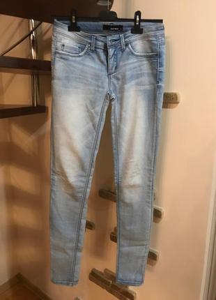 Супер классные джинсы светлые италия