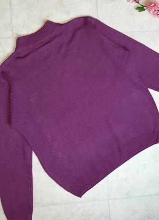 1+1=3 женственный пурпурный свитер под горло, размер 50 - 52, германия