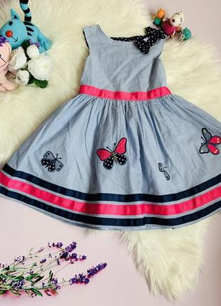 Нарядное платье george девочке 3-4 года