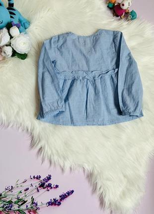 Блуза zara малышке 2-3 года