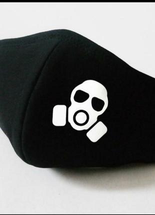 Многоразовая маска с принтом