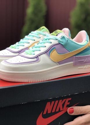 Nike air force 1 low шикарные женские кроссовки найк