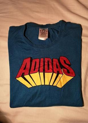 Оригинальная винтажная футболка adidas
