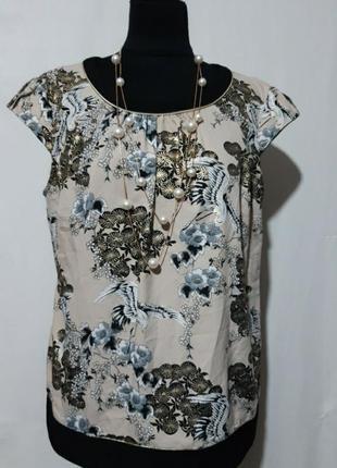 """Новая блуза с завязкой сзади известного бренда """"billie&blossom""""48 размер"""
