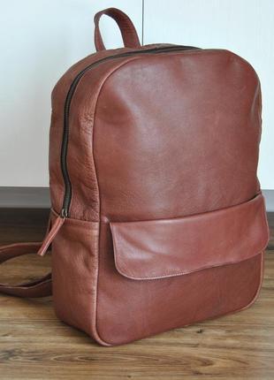 Кожаный рюкзак still nordic кожаная сумка / шкіряний рюкзак