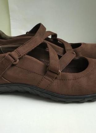 Кожаные туфли (мокасины)  timberland р.39.5 оригинал