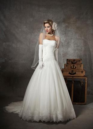 Свадебное супер платье. justin alexander модель 8625