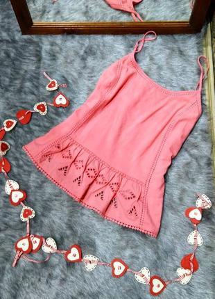 Вышиванка блуза топ кофточка на бретелях george