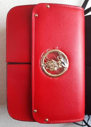 Красная сумочка-кроссбоди us polo assn uspa сумка
