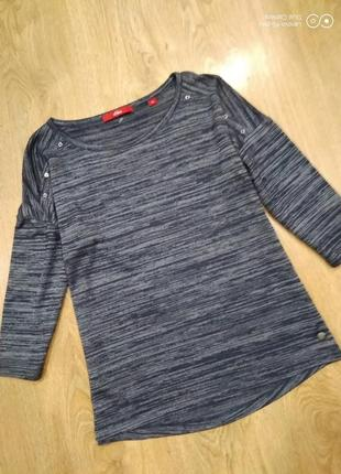 Суперская кофта ,реглан, блуза- оверсайз модель-32-34-s.oliver