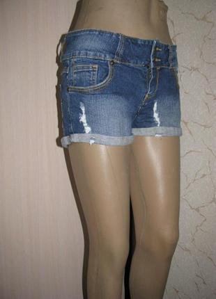 Шорты джинсовые l размер евро 12 женские