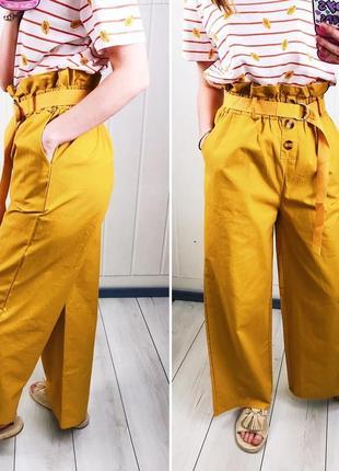 Женские легкие широкие брюки
