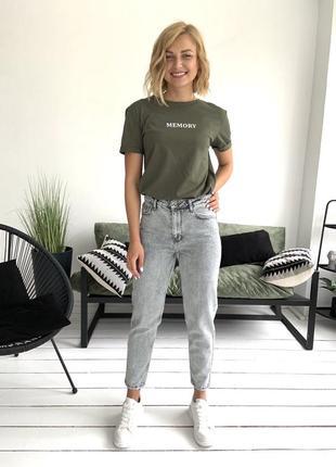 Женские джинсы мом1 фото