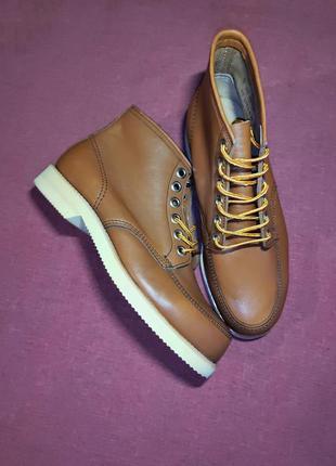 Кожаные винтажние ботинки