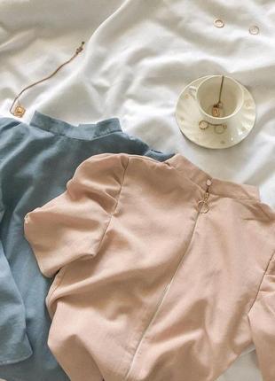 Жата нюдова блуза 25493