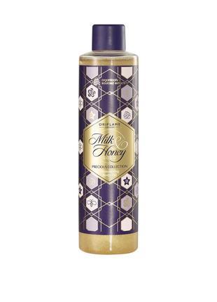 Мерцающее масло для тела молоко и мед – золотая серия
