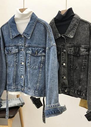Женская джинсовка джинсовая куртка