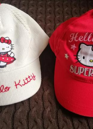 Новые кепки с китти