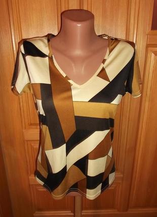 Стильная блузочка футболкам р. 14 -l - ladies1 фото