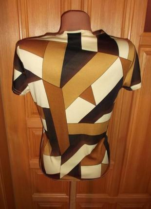 Стильная блузочка футболкам р. 14 -l - ladies2 фото