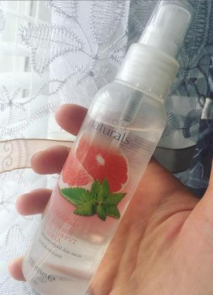 Лосьон - спрей для тела освежающий «розовый грейпфрут и мята» 100 мл