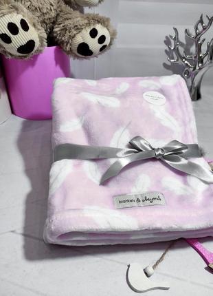 Канадский брендовый плед blankets and beyond пледик одеяло для новорожденных