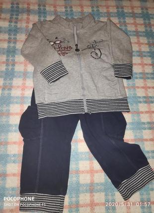 Классный спортивный костюм на девочку фирмы dodipetto