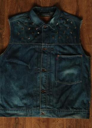Мужская джинсовая куртка levi's 70501 jacket