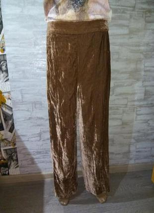 Велюровые, бархатные повседневные штаны