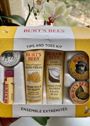 Продам набор органической косметики burts bees