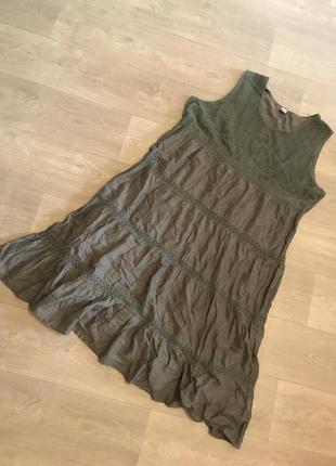 Нереально крутое платье на лето батал