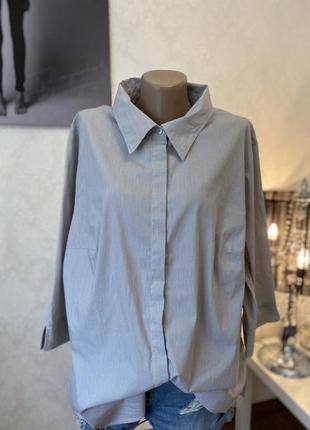 Крутая рубашка большого размера