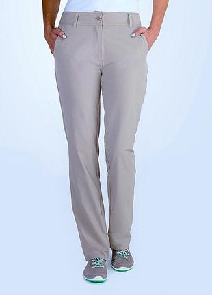 Фирменные стрейчевые брюки из коллекции crosstown chinos брэнда rohan (великобритания)
