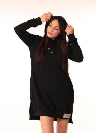 Платье-туника quest-wear чёрное