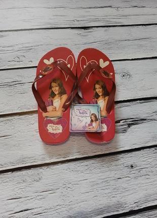Шлепки шлепанцы вьетнамки сланцы обувь для пляжа пляжные дисней виолетта