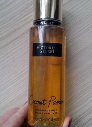 Парфюмированный спрей victoria's secret coconut passion