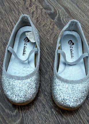 Нарядные туфельки для принцессы lc waikiki ® размер: 26 стелька: 15.5-16 см.