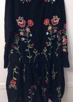 Zara платье с вишивками