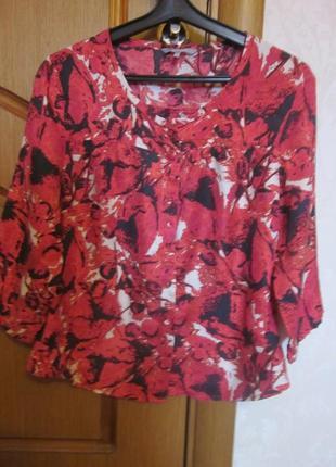 Шелковая блузка inwear размер s